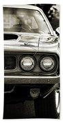 1971 Plymouth Cuda 383 Bath Towel