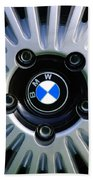 1973 Bwm 3.0 Csl Wheel Emblem Bath Towel