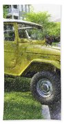 1976 Toyota Landcruiser Bath Towel