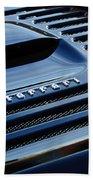1997 Ferrari F 355 Spider Rear Emblem -153c Bath Towel