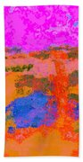 0173 Abstract Thought Bath Towel
