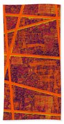 0191 Abstract Thought Bath Towel