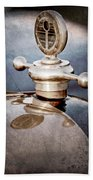 1922 Studebaker Touring Hood Ornament Bath Towel