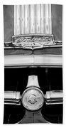 1950 Pontiac Grille Emblem Bath Towel