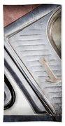 1955 Lincoln Capri Emblem Bath Towel