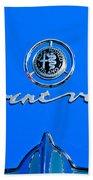 1956 Alfa Romeo Sprint Veloce Coupe Emblem Bath Towel