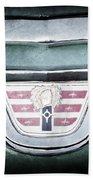 1956 Dodge Emblem Bath Towel