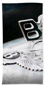 1957 Bentley S-type Hood Ornament - Emblem Bath Towel