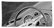 1959 Devin Ss Steering Wheel Bath Towel