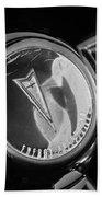 1967 Pontiac Firebird Steering Wheel Emblem Bath Towel