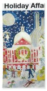 A Holiday Affair Bath Towel