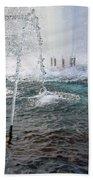 A World War Fountain Bath Towel