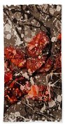 Abstract 123 Hand Towel