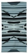 Abstract Buildings 3 Bath Towel