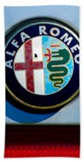 Alfa Romeo Emblem Bath Towel