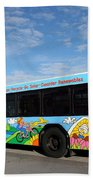 Ameren Missouri And Missouri Botanical Garden Metro Bus Bath Towel