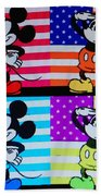 American Mickey Bath Towel