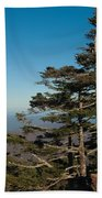 Appalachian Mountains From Mount Mitchell  Bath Towel