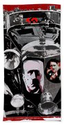 Auction Sale Of Adolf Hitler's Model 770-k 1941 Mercedes-benz Touring Car In Scottsdale Az 1973 Bath Towel