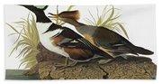 Audubon Merganser Bath Towel