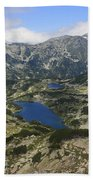 Banderishki Lakes Pirin National Park Bulgaria Bath Towel