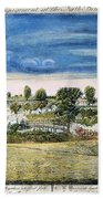 Battle Of Concord, 1775 Hand Towel
