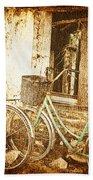 Bikes And A Window Bath Towel