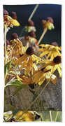black eyed Susan Bath Towel