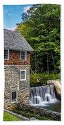 Blow Me Down Mill Cornish New Hampshire Bath Towel