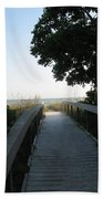 Boardwalk To The Beach Bath Towel