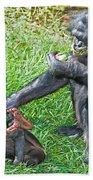 Bonobo Adult And Baby Bath Towel