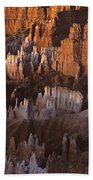 Bryce Canyon National Park Hoodo Monoliths Sunrise Southern Utah Bath Towel