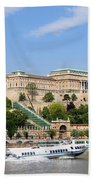 Buda Castle In Budapest Hand Towel