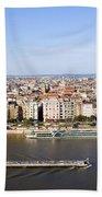 Budapest Cityscape Bath Towel