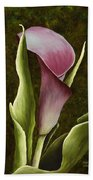 Calla Lily Bath Towel