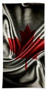 Canadian Flag  Bath Towel