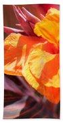 Canna Lily Named Durban Bath Towel