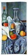 Cezanne's The Peppermint Bottle Bath Towel
