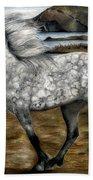 Charismatic Icelandic Horse Bath Towel