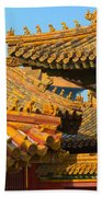 China Forbidden City Roof Decoration Bath Towel