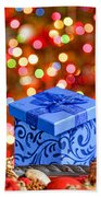 Christmas Box Bath Towel