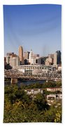 Cincinnati, Ohio Bath Towel