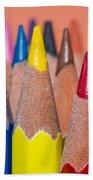 Color Pencil Bath Towel