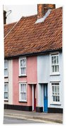 Colorful Houses Bath Towel