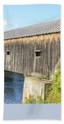Cornish-windsor Covered Bridge IIi Bath Towel