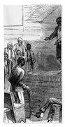 Cotton Plantation, 1867 Bath Towel