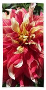 Dahlia Named Bodacious Bath Towel