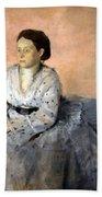 Degas' Madame Rene De Gas Bath Towel