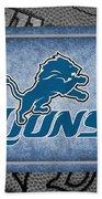 Detroit Lions Bath Towel