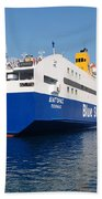Diagoras Ferry Symi Bath Towel